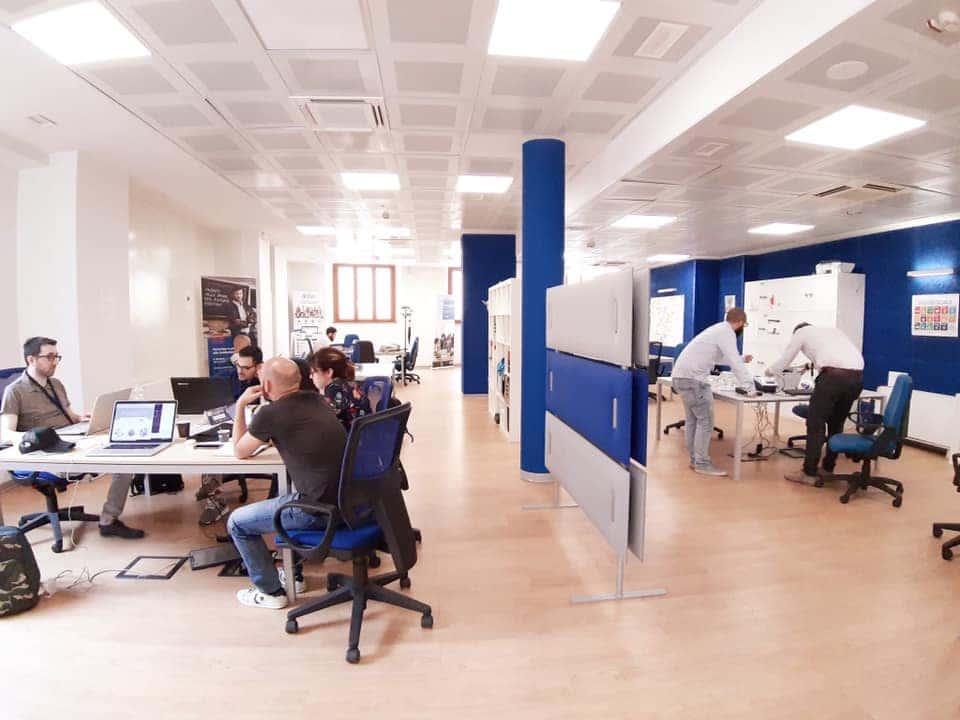 spazio coworking negli uffici di jobiri a milano