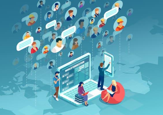 selezionatori utilizzano strumenti di social recruiting per conoscere i candidati