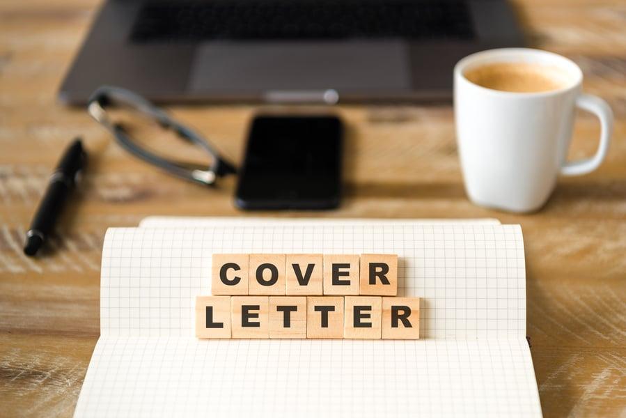 la cover letter, cioè la lettera di presentazione in inglese