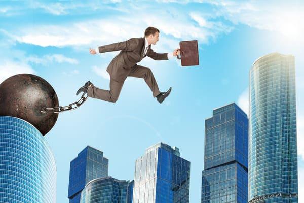 lavoratore salta da un lavoro all'altro